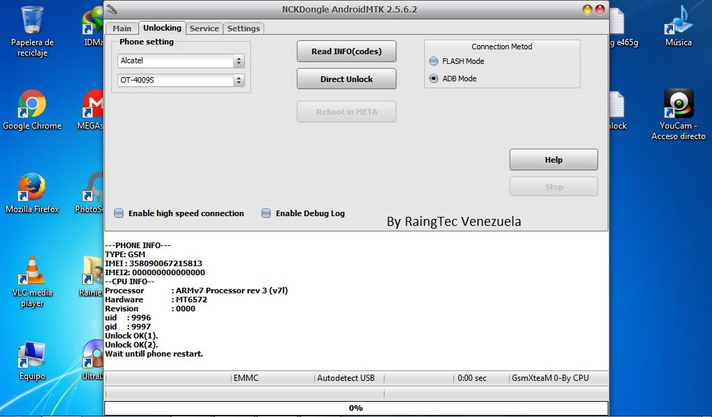 Direct unlock alcatel pixi 3.5 ot 4009s Digitel Venezuela E8nwaa