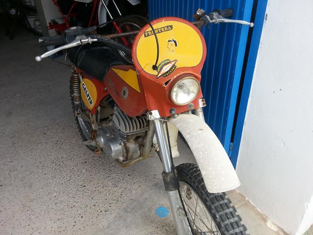 La Bultaco Frontera 74 de mi hija. E96yhd