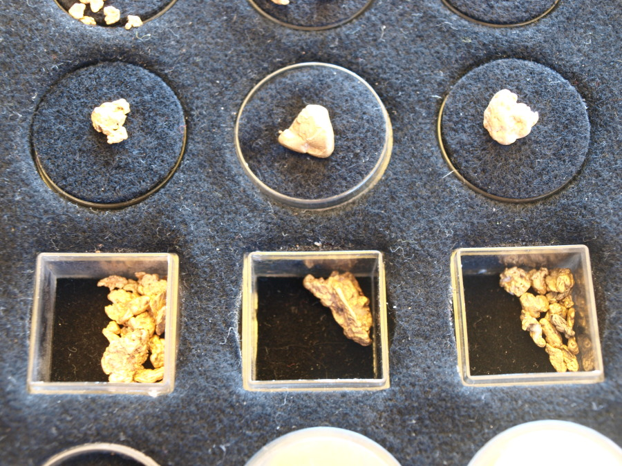 Mi colección de pepitas de oro........ Ea5pue