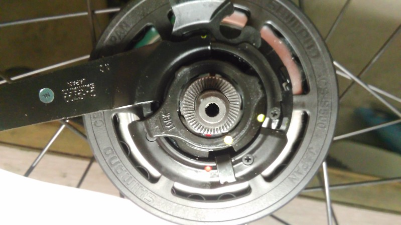 Montaje de un cambio integrado Shimano Alfine 11v. Eb7vx1