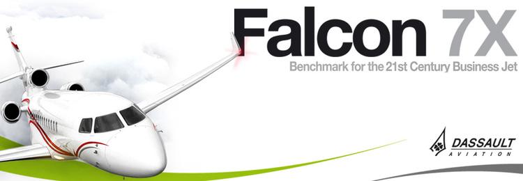 Wilco Falcon 7X Lançado. Einqmb