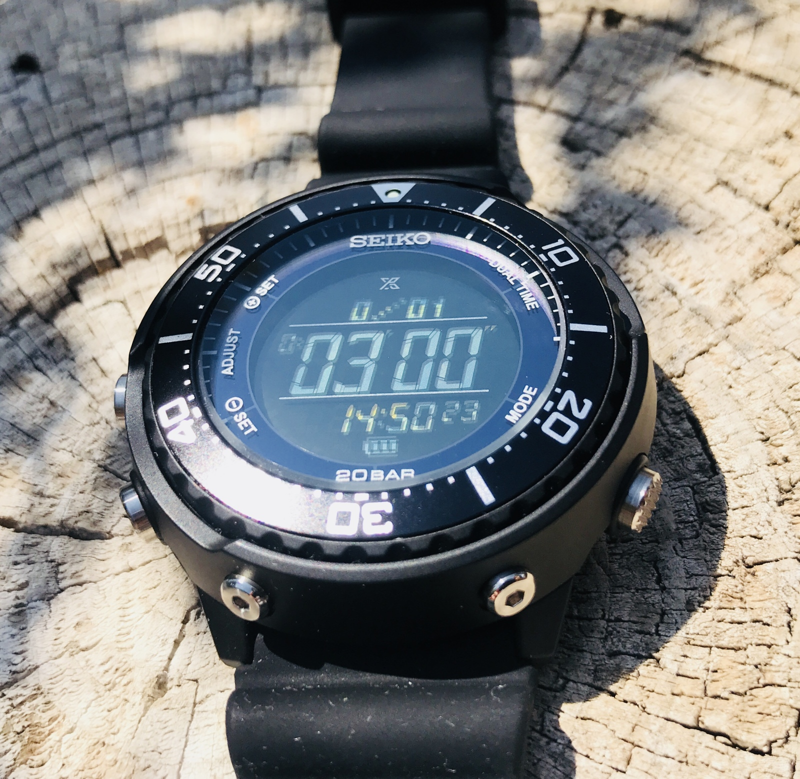 Seiko Prospex Digital Tuna SBEP001 Ejj1cl
