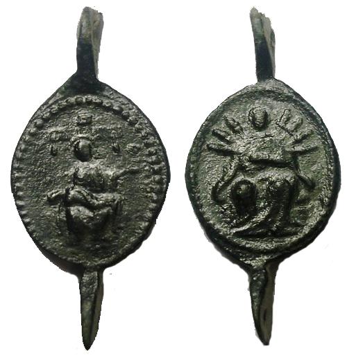 Varias medallas siete dolores de la Virgen María Fapvk1