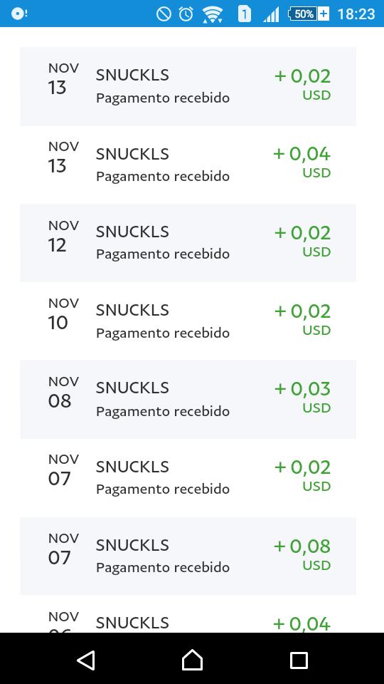 [Testar] Snuckls - Ganhar dinheiro a ver videos! Fypy4l