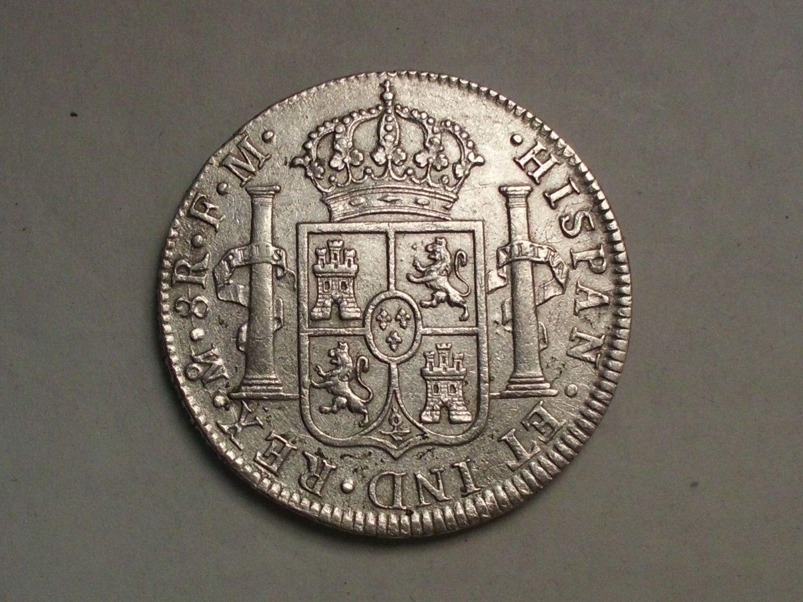 8 reales 1788 carlosIII mexico Jhbj4j