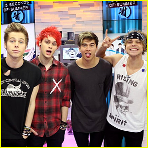 [US] 5 Seconds of Summer vai ao Late Show with Stephen Colbert Jtbgif