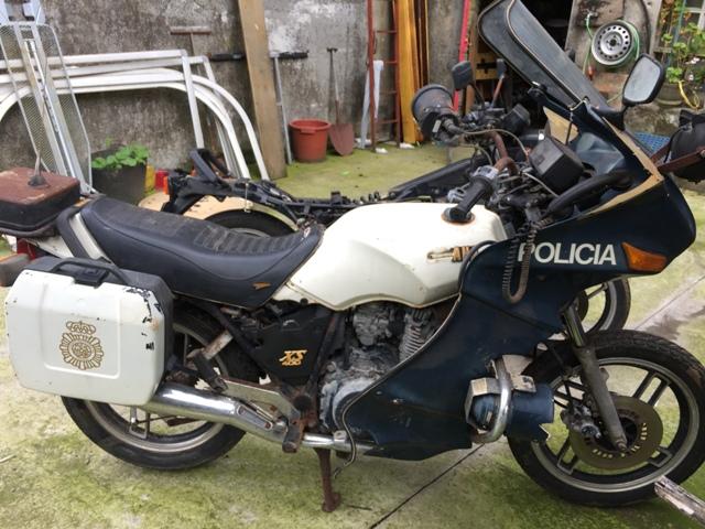 Yamaha XS 400 POLICIA K50pcj