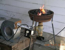 Fragua a super gas y aire forzado (secador de pelo) Kdr342