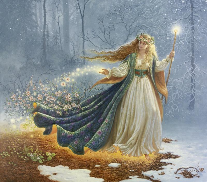 Богиня Жива M4gux