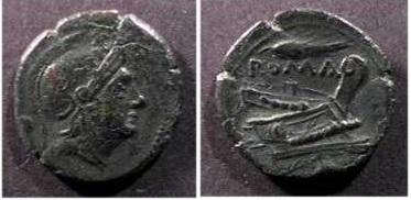 Uncia Republicana Anónima (Roma/Proa y espiga). Sicilia Nprqqw