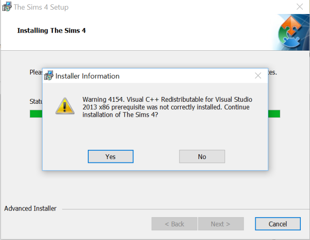 Trying to install on D drive instead of C, having problems Qn3cl5