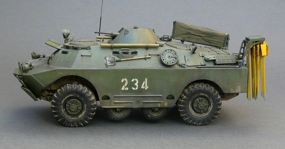 БРДМ-2РХБ(ранний),1\35,Trumpeter R9jts2