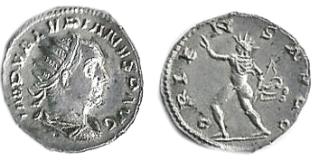 Les antoniniens du règne conjoint Valérien/Gallien Rk25ba