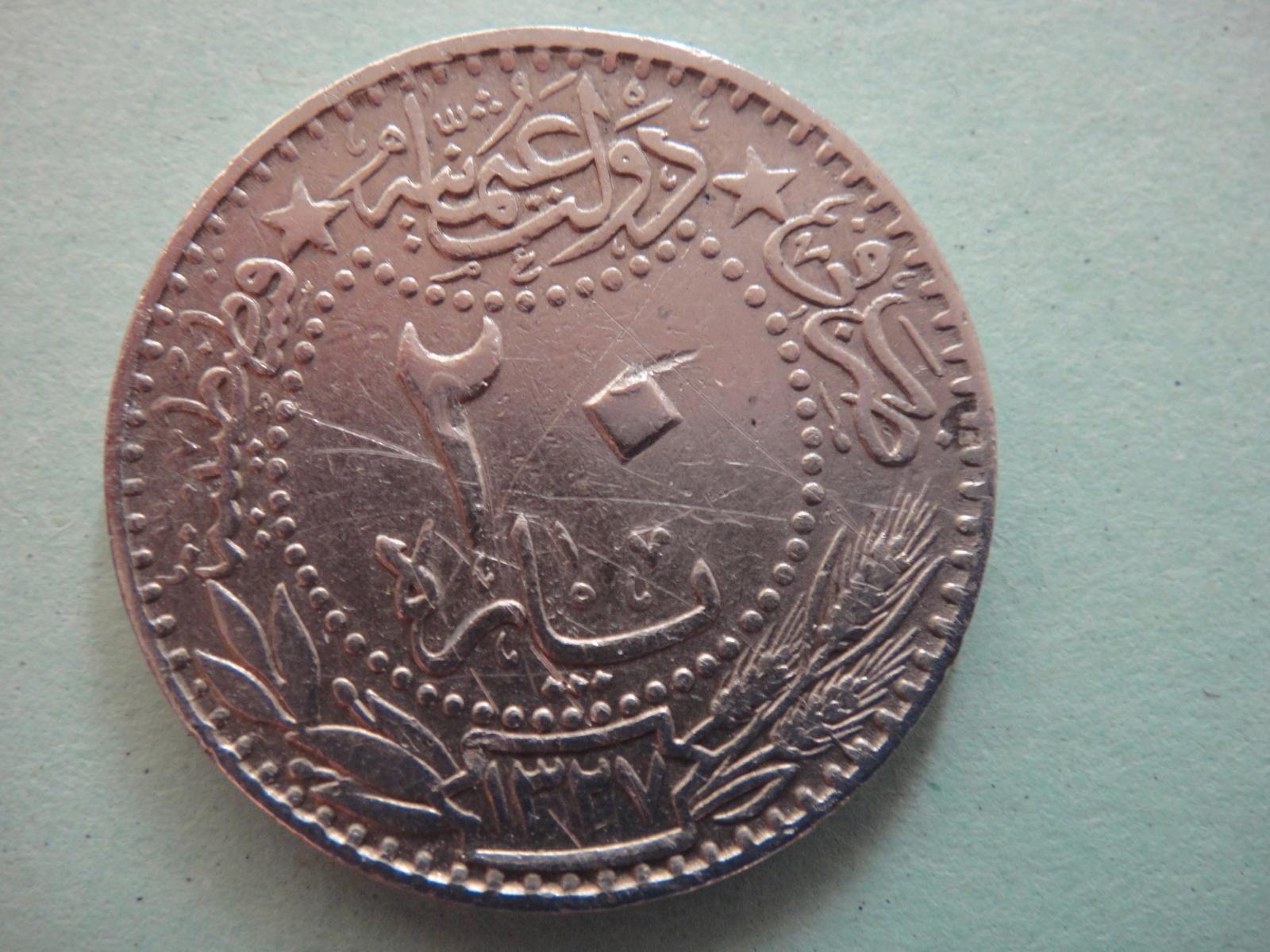 20 Para. Imperio Otomano (1914-15) S6qc07