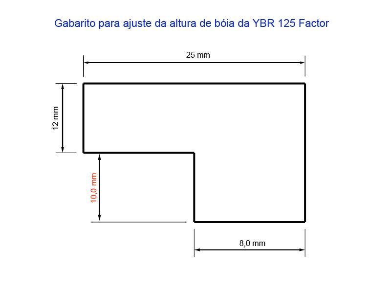 Factor - Tutorial - Como resolver o vazamento de combustível pelo respiro do carburador na YBR 125 Factor Scz582
