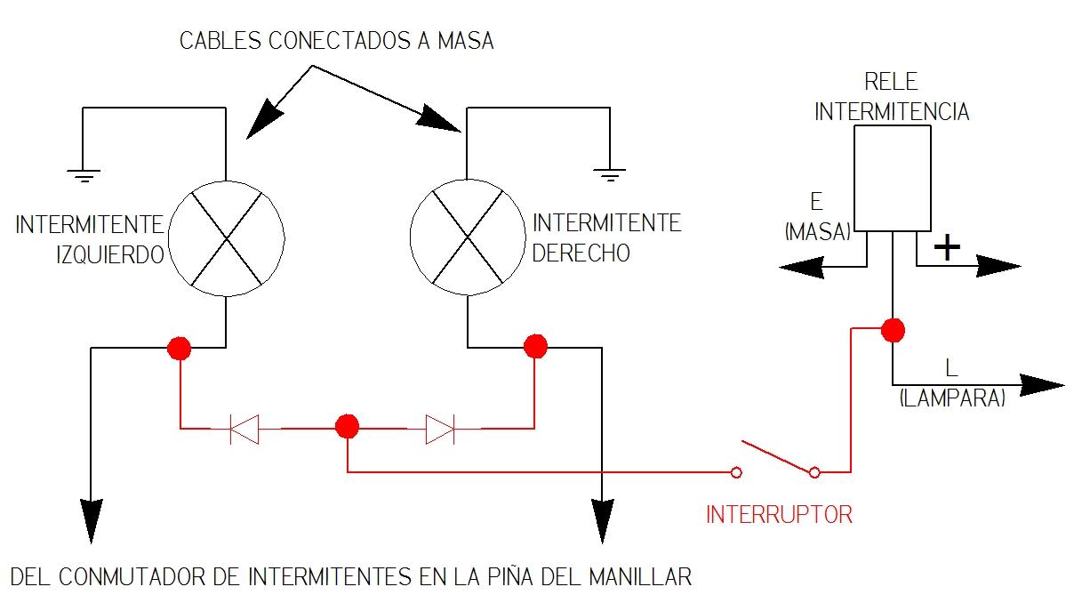 INSTALACIÓN DE LUCES DE EMERGENCIA (WARNING) Syt6ht