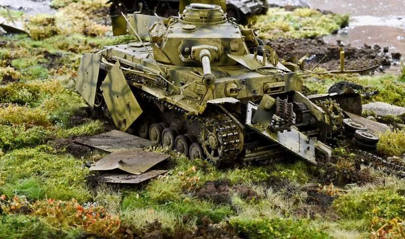 """Pz.Kpfw. IV Ausf. G, или… пламенный привет от """"зверобоя""""… 1/35 V4b2u9"""