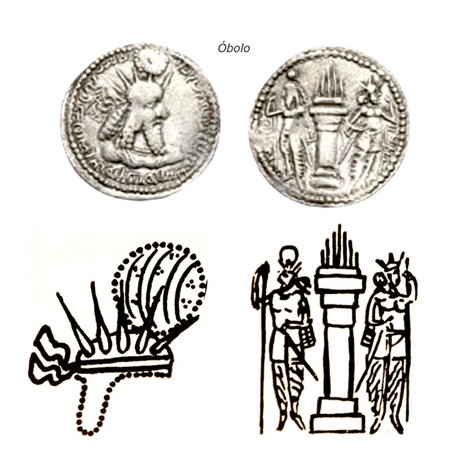 Las coronas de los shas de Persia. Vpyfte