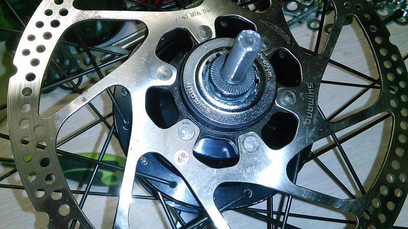 Montaje de un cambio integrado Shimano Alfine 11v. W1xvsk