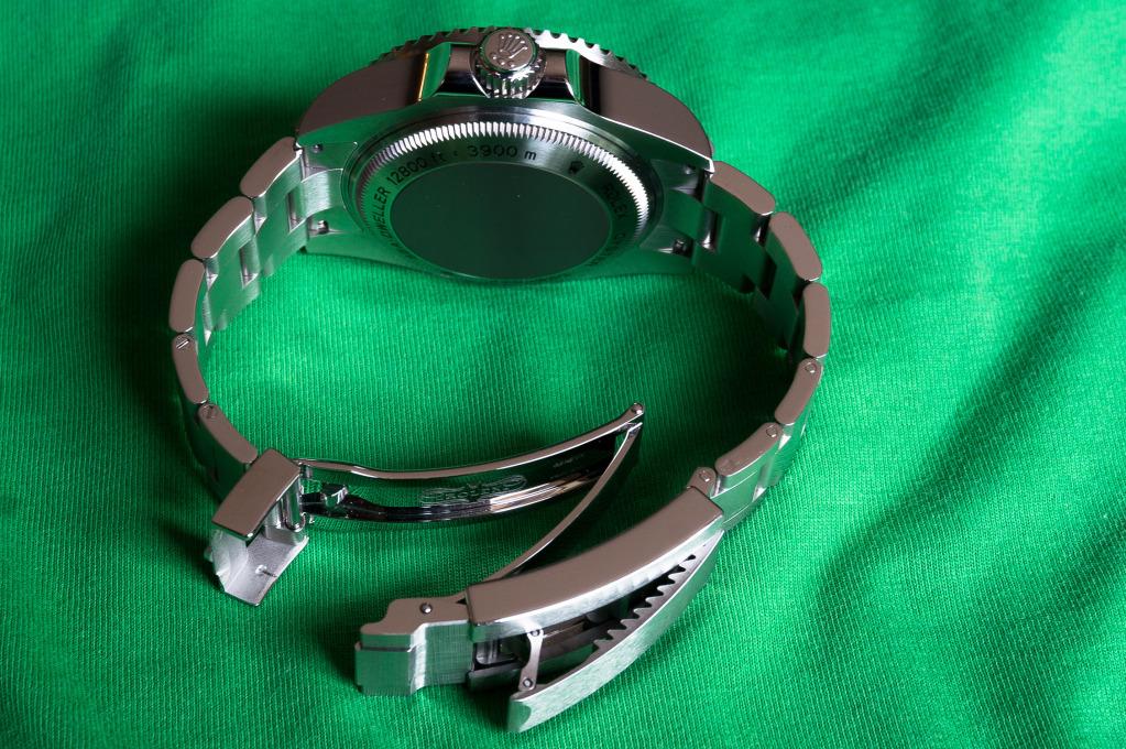 Présentation de la Rolex 116660 SDDS D-Blue James Cameron W7kjec