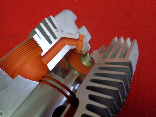 Motor seccionado para exposición Xegbnk