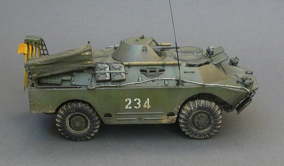БРДМ-2РХБ(ранний),1\35,Trumpeter Xek1p2