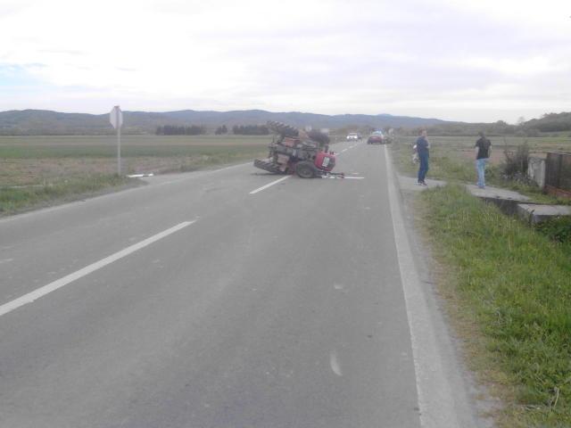 Prometne nesreće sa traktorima    Xmpbte