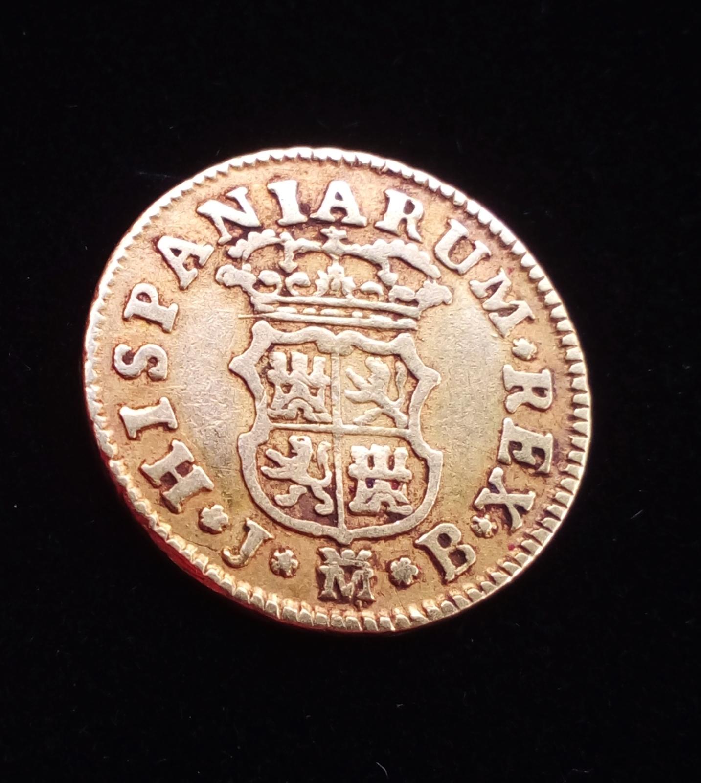 1/2 Escudo Fernando VI 1754 Madrid Zwjdci