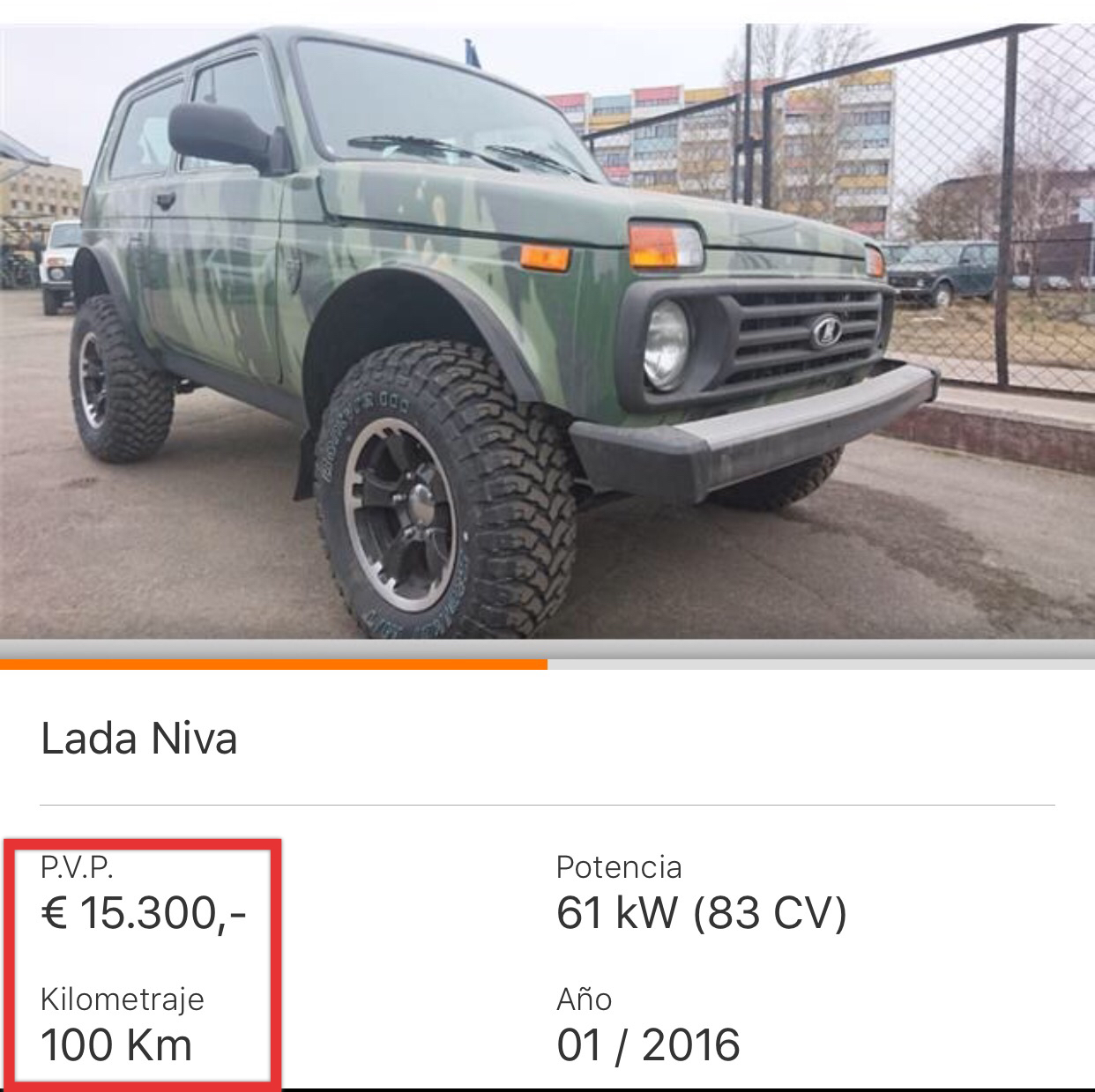 Venta de Lada Niva Bronto  Zwxp43