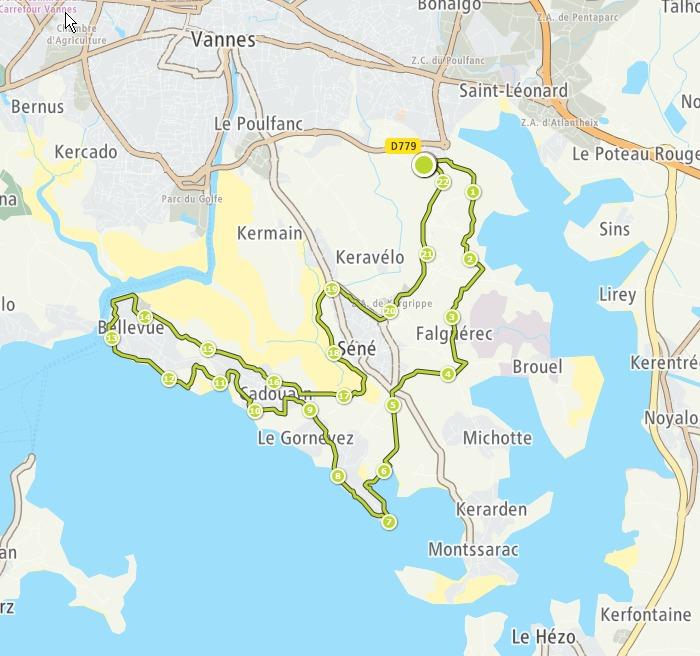ULTRAMARIN 2018 - MN du Raid du Golfe du Morbihan (29 KM) - 30/06/2018 Zx9vup
