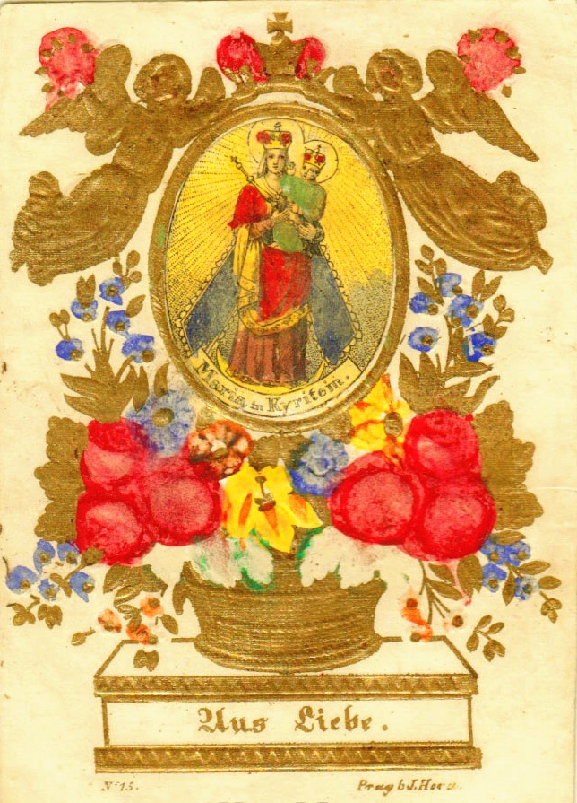 broumov - Medalla Sta María de Křtiny  (Moravia) / Sta Maria de Broumov (Bohemia)(R.M. SXVIII-P90)(MAM) 11rc8eh