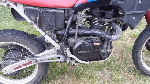 Mi Kawasaki KLR 600 124jvqc