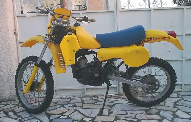 Prototipo Suzuki RM 80 H 1983 14e6ssi