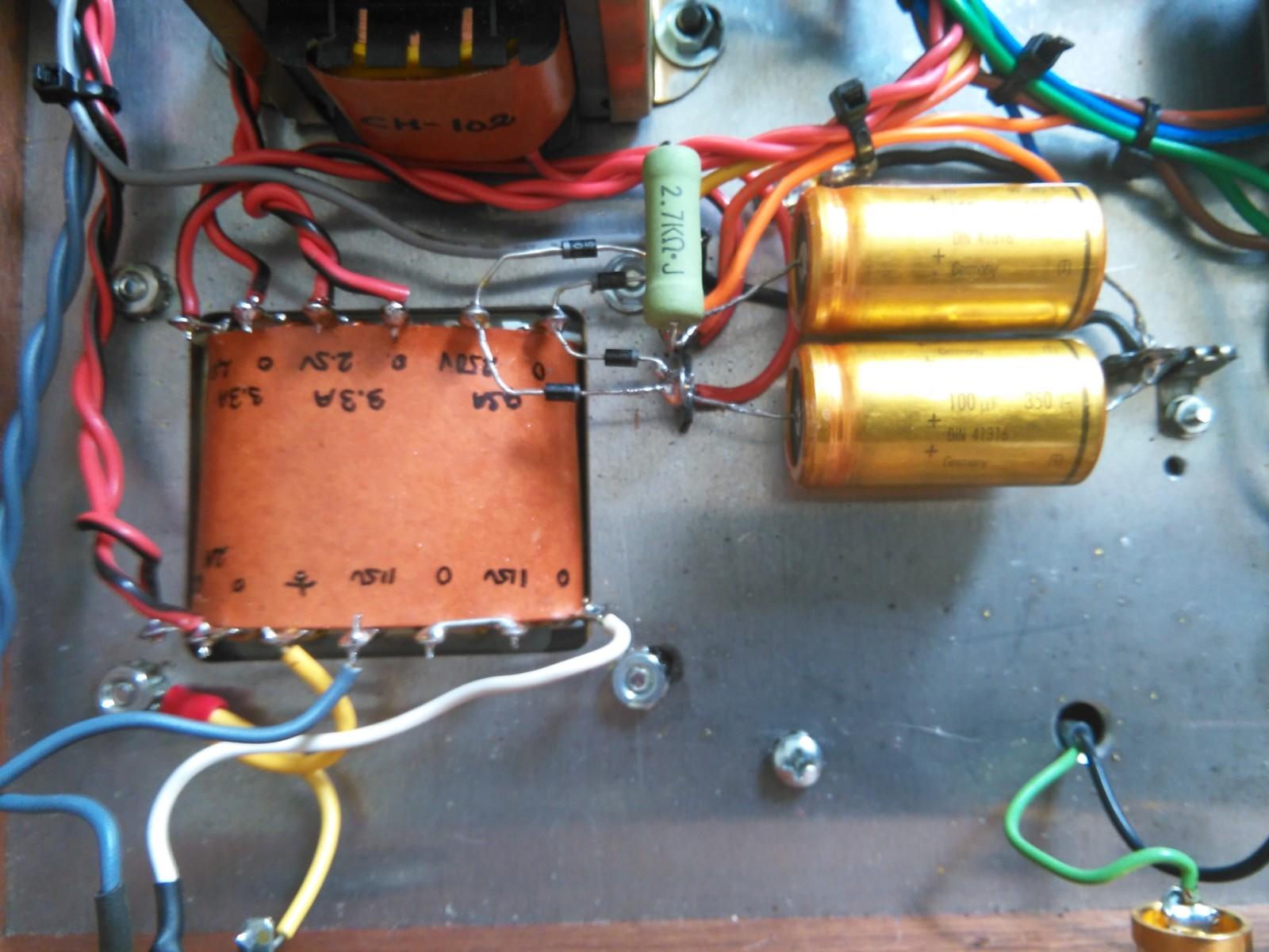 Cambio- elección de condensador señal audyn y duda con electrolitico al añadir polipropileno 15xpe03