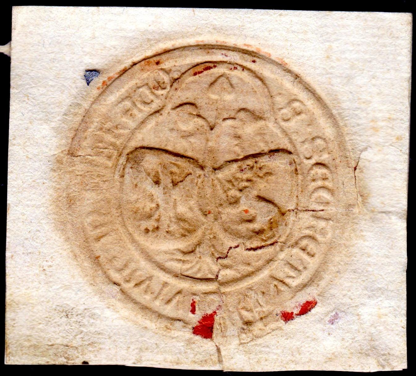 sigillum Girolamo Doria1533 ?? 16kbe6e