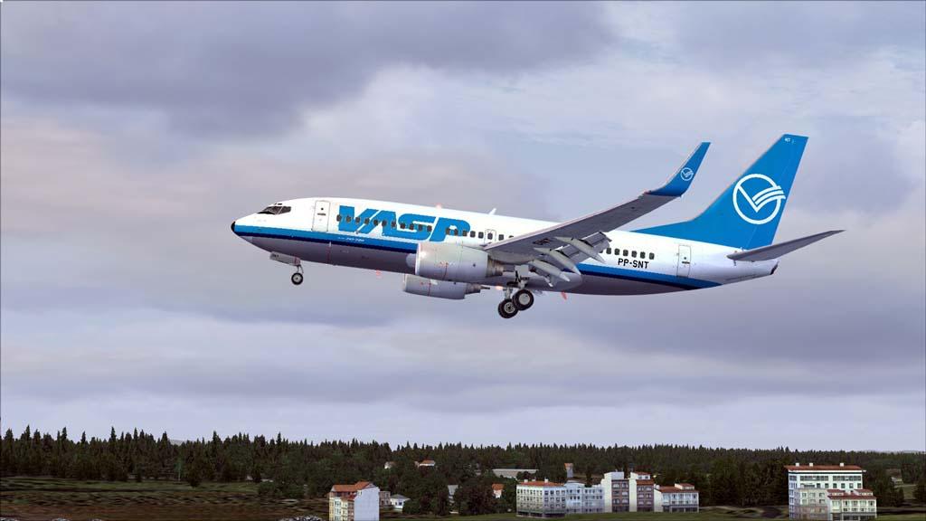 Boeing 737-700 Vasp 16le70w