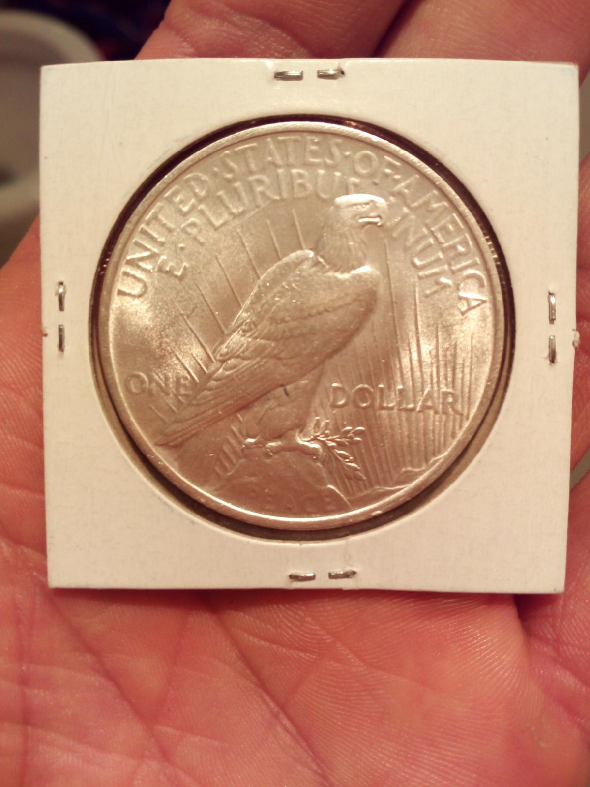 dolar plata  1923 1xxity