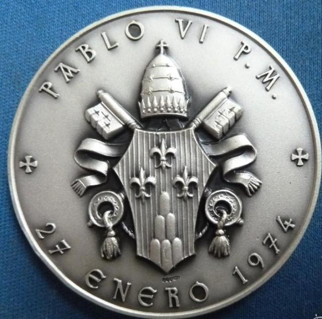 medalla mate 50 mm 1843-1897 S TERESA JORNET-PABLO VI 27-01-1974//CATALOGACION 20h9hzo