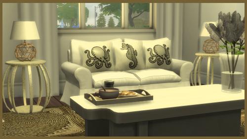 Sims Divine: Coastal Quarters Set 212u0kh