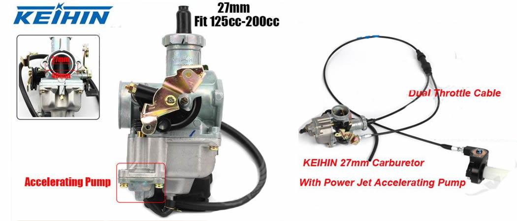 Regular/ajustar carburador PZ27 21jd2ck
