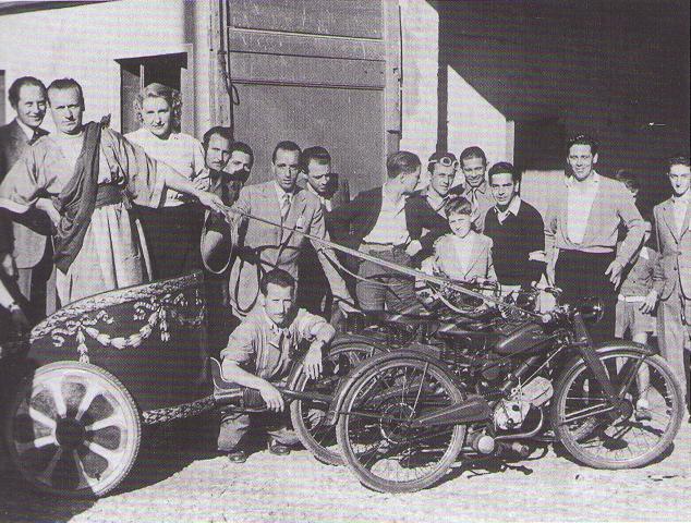 guzzi - La primera Guzzi 65 fabricada en España 21keafn