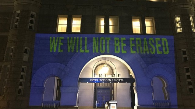 We will not be erased! 23h145j