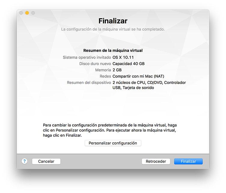[TUTORIAL] VMWARE: INSTALANDO OS X EL CAPITÁN EN OS X Y WINDOWS... A LA BILBAÍNA 23k9l52