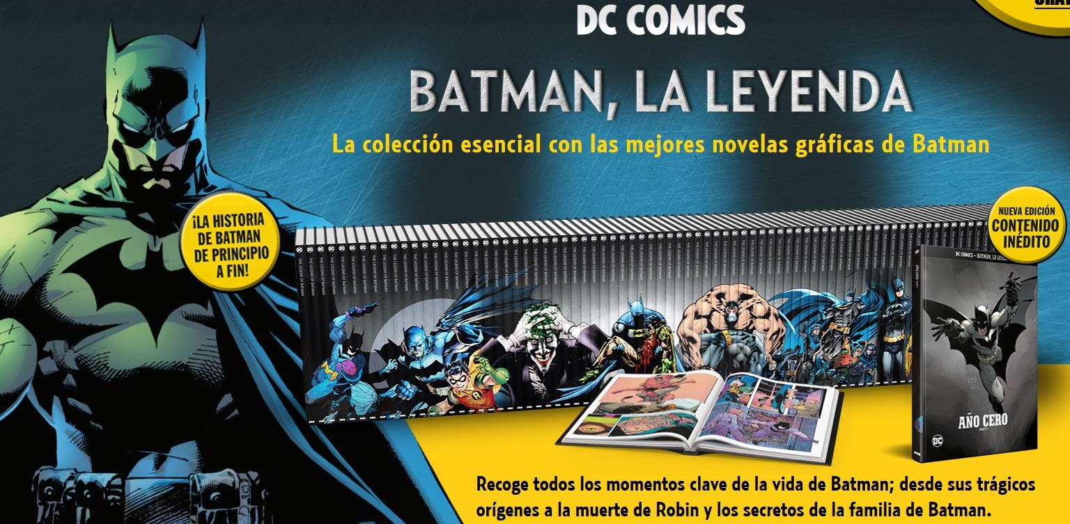 [DC - Salvat] Colección Batman, La Leyenda 24268na
