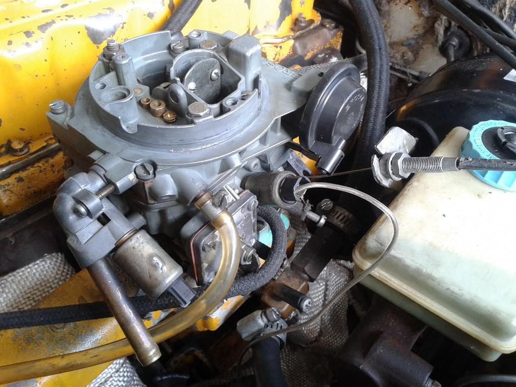 TUTORIAL de Instalação do Carburador 3E no Coletor do H34 com flange! 24606fl