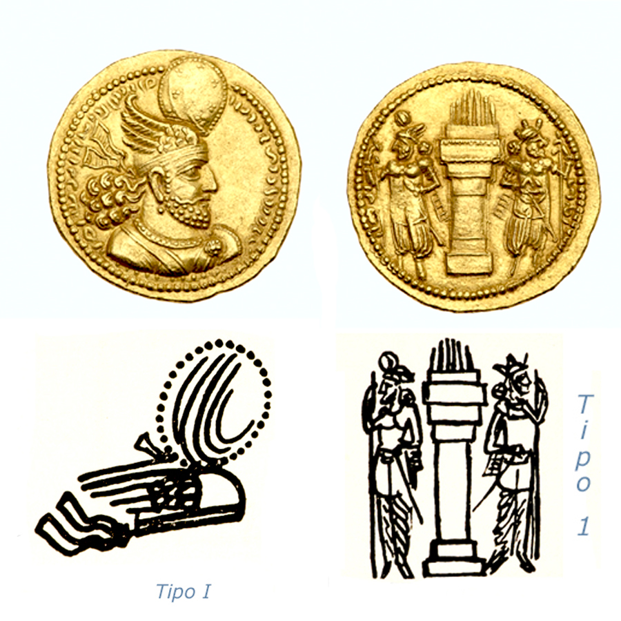 Las coronas de los shas de Persia. 289cy2h