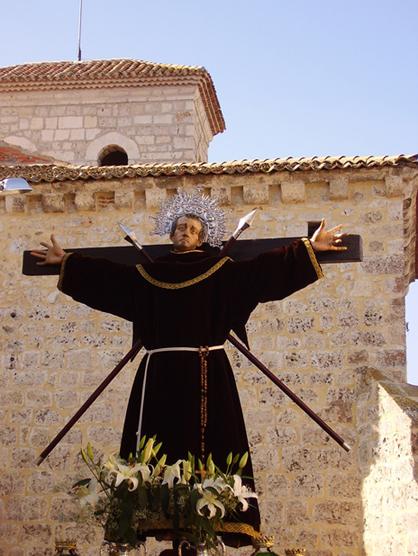 Medalla del Beato Francisco de San Miguel de la Parrilla y San Pedro Regalado. 2939j6q