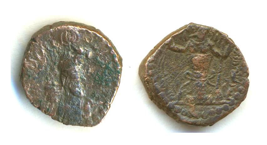 AE15 Kusano-sasanida de Peroz III ó IV 295s1ux