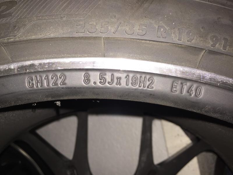 """Llantas BBS Motorsport 19"""" + neumáticos + separadores 29utybs"""