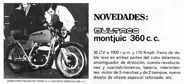 Bultaco Montjuïc 360 - 1974 2ds2n5